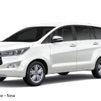 Toyota Innova Crysta Color White Pearl Crystal Shine
