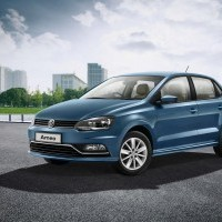 Volkswagen Ameo Car Color Blue