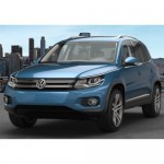 Volkswagen Tiguan Atlantic Blue Colour