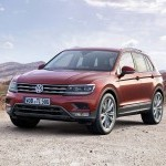 Volkswagen Tiguan India Color Red