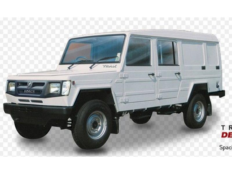 Force Trax Delivery Van Colour White