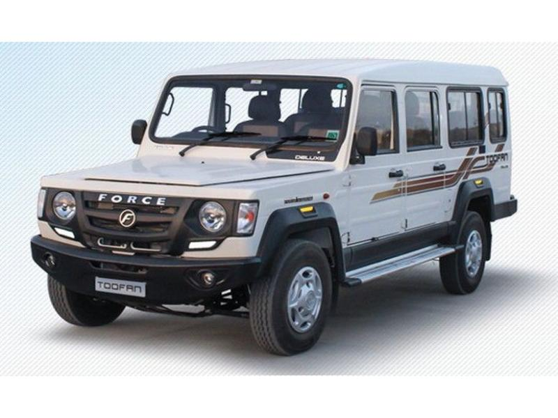 Force Trax Toofan Deluxe Colour White