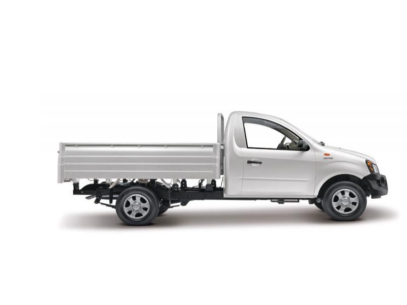 Mahindra Genio Truck Colour Diamondgray