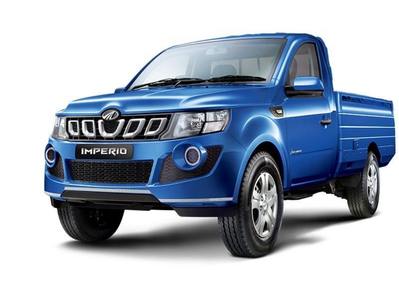 Mahindra Imperio Color Blue