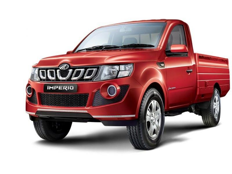 Mahindra Imperio Color Red