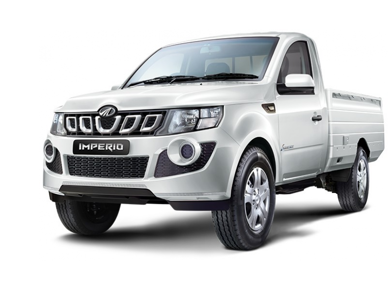 Mahindra Imperio Color White