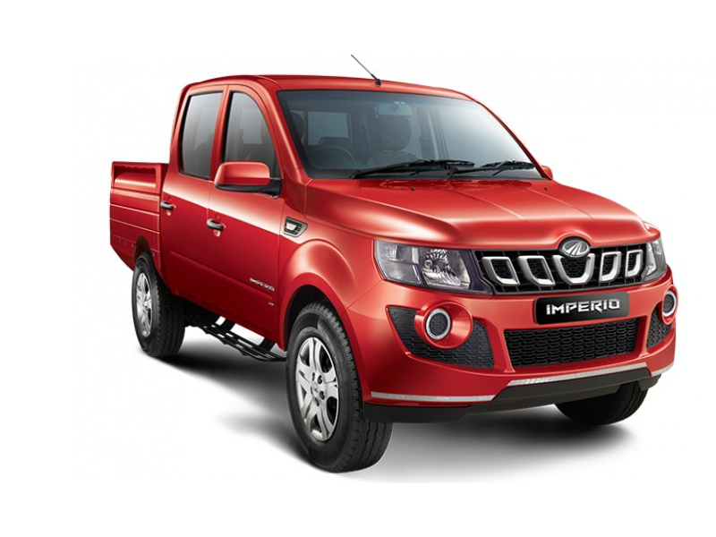 Mahindra Imperio Double Cabin Color Red