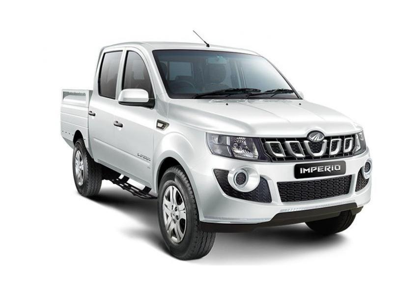 Mahindra Imperio Double Cabin Color White