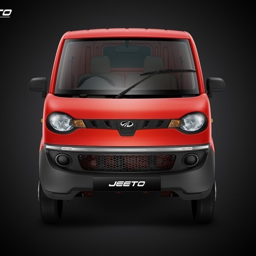 Mahindra Jeeto Red Colour