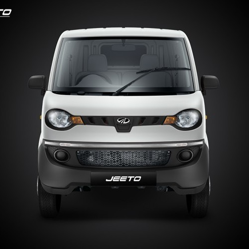 Mahindra Jeeto White Colour