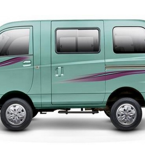 Mahindra Supro Van Lx Colour Deep Warm Blue