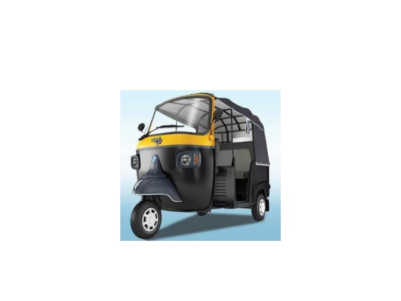 Piaggio New Ape City 200 Colour Black