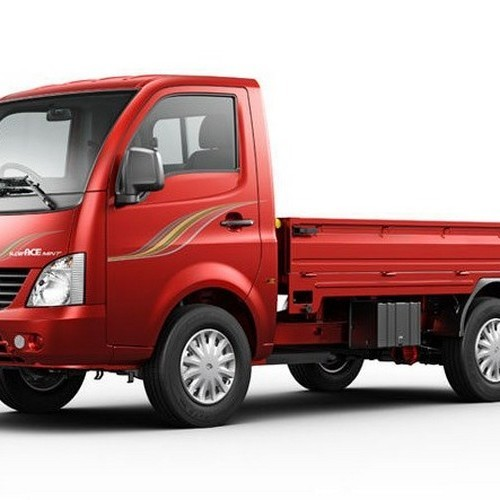 Tata Super Ace Mint Colour Metallic Red