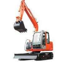 Tata Hitachi ZAXIS 75 Backhoe Picture