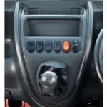 Ace Zip Interior Gear Shift Pattern