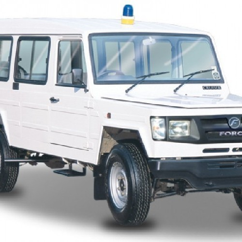 Force Trax Delivery Van Image 3