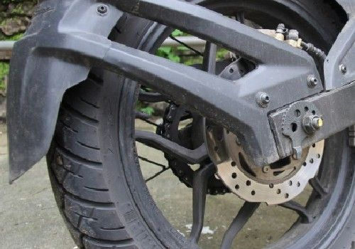 Rear Tyre Hugger or Mud Guard