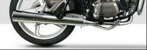 Super Splendor-125 Silencer Guard