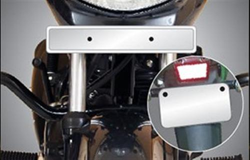 CB Hornet 160R Number Plate Front and Rear