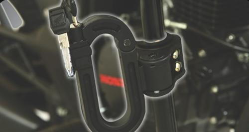 Helmet Lock - Black
