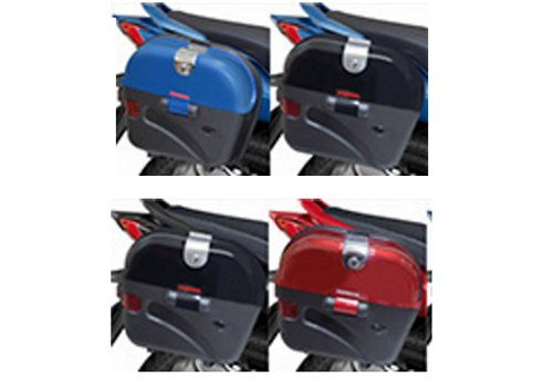 Side Box - Pearl Black / Imperial Red Marvel Blue / Axis Grey