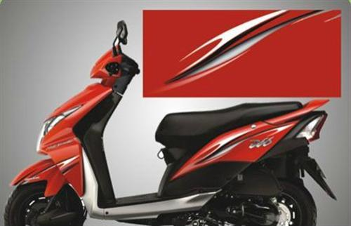 Decal Set - Red and Black
