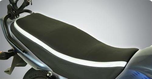 Seat Cover - Black and Metallic Silver