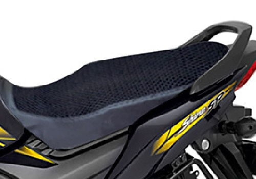 Seat Cover Black - Mesh With Rain Cover
