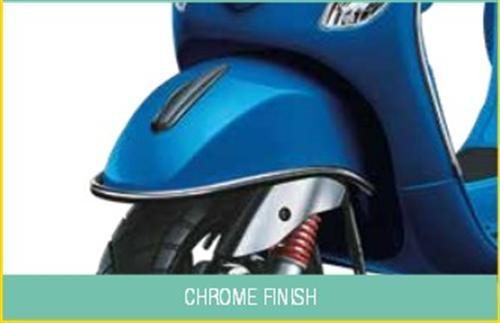 Chrome Finish Front Guard
