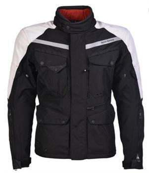 Darcha - 4 Season Touring Jacket - Black and Silver