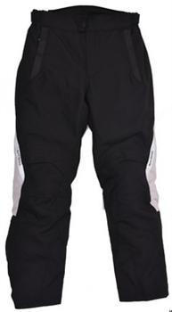 Darcha - 4 Season Touring Textile Trousers - Black and Silver