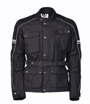 Kaza - Classic Adventure Touring Jacket - Black