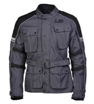 Kaza - Classic Adventure Touring Jacket - Grey