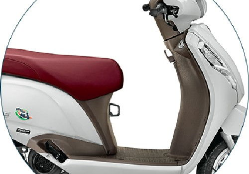 Access 125 Brown Finished Inner Leg Shield