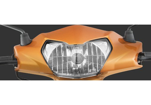 Clear Lens Multi-Reflector Headlamp With Aho