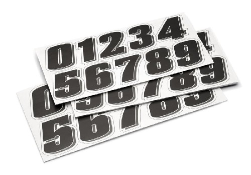 Numbers Sticker Kit