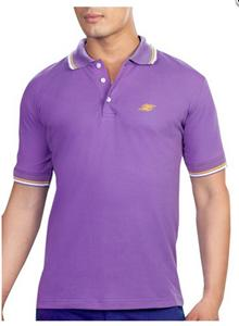 Z Premium Jersey Polo Purple T-Shirt