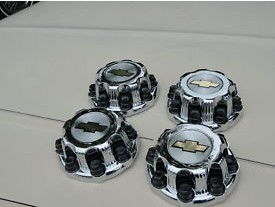 Sail Alloy Wheel Caps