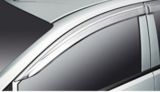 Weather Deflectors Chrome