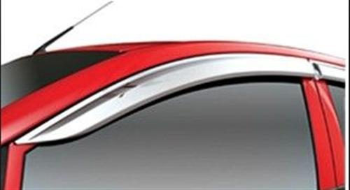 Chrome Door Visor