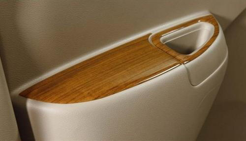 Interior Finisher Power Window - Teakwood