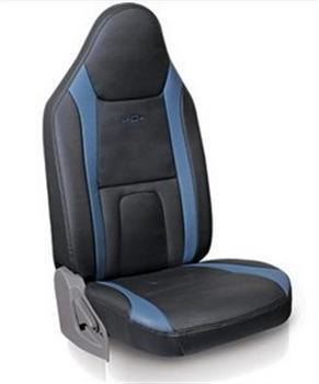 Seat Cover Art Leather - Blue Plus  Black