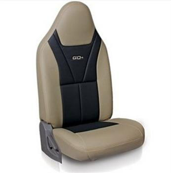 Seat Cover Art Leather - Greige Plus Black