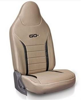 Seat Cover Fabric - Beige Plus Black