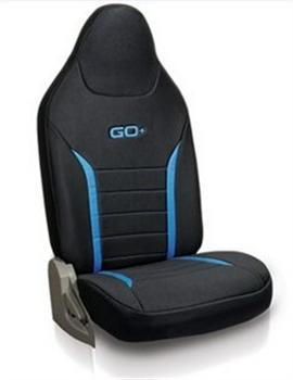 Seat Cover Fabric - Black Plus Blue