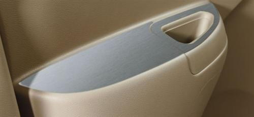 Interior Finisher Door Handle - Silver