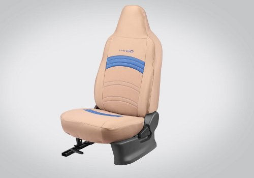 Seat cover Fabric : Beige and Blue