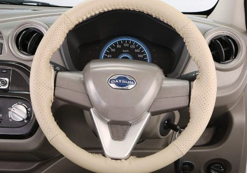 Steering Wheel Cover : Full Beige