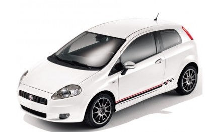 Low Chequered Stickers in Red or White - 5 Door Models