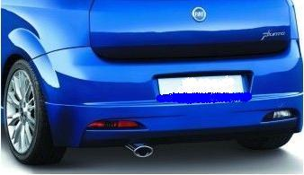 Body Kit Rear Bumper Spoiler